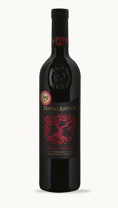 Víno PRIMITIVO DEL SALENTO IGT Masso Antico