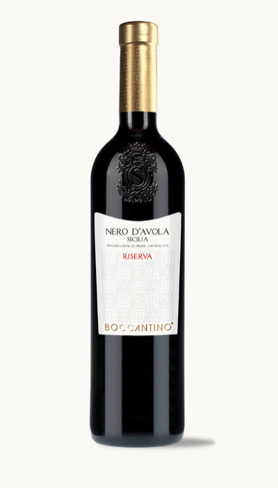 Víno NERO D´AVOLA RISERVA DOC BOCCANTINO