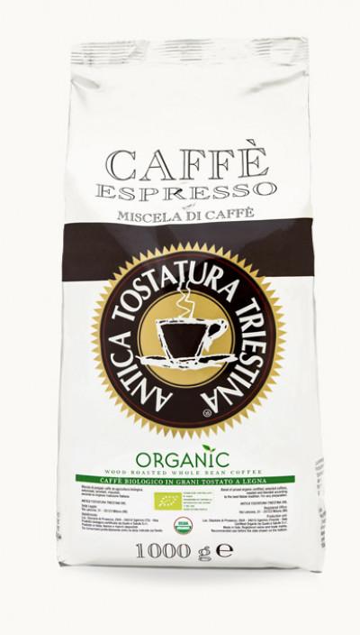 Káva Organic 1kg, zrnková
