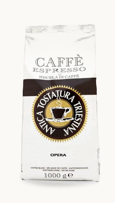 Káva Opera 100% Arabica 1kg, zrnková