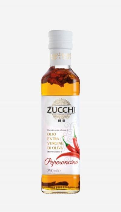 Olivový olej Extra Virgin Chili Zucchi, 0,25 l