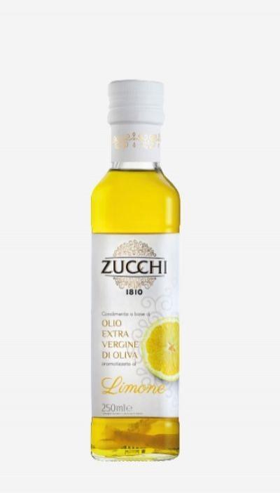 Olivový olej Extra Virgin Lemon Zucchi, 0,25 l