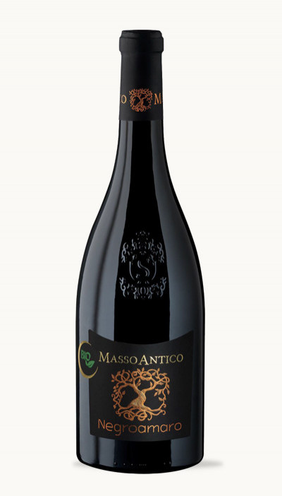Víno Negroamaro del Slaento IGT BIO Masso Antico