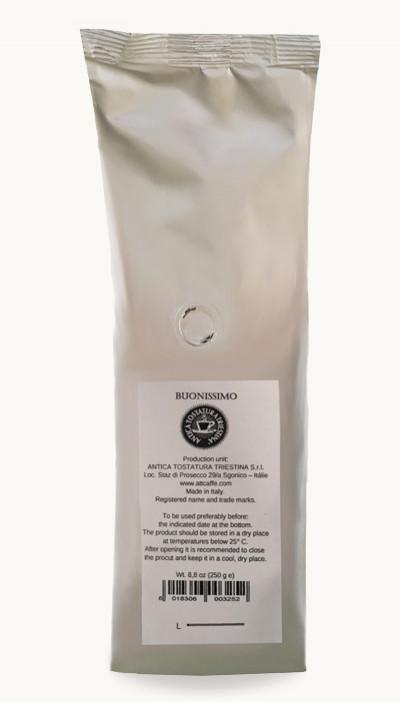 Káva Buonissimo 250g, zrnková
