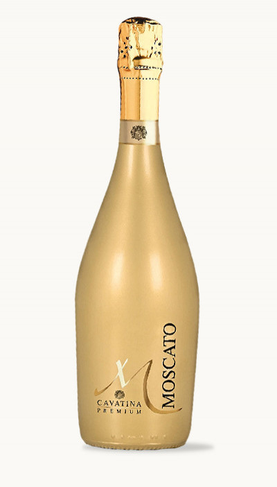 Víno Moscato Premium Cavatina