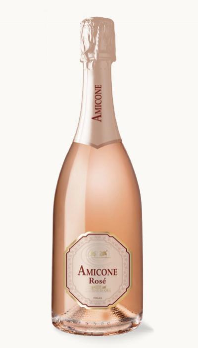Víno Pinot Rose Extra Dry Amicone