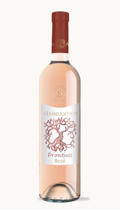 Víno Primitivo del Salento IGT Rosato Masso Antico