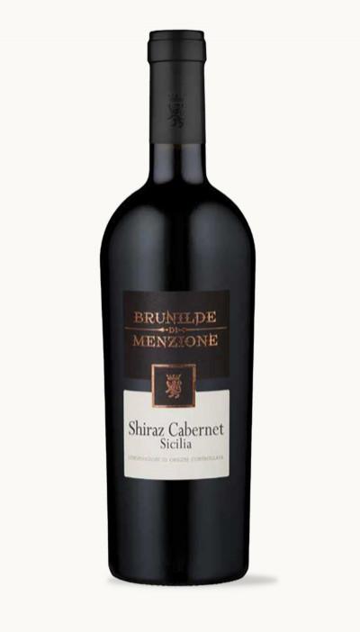 Víno SHIRAZ CABERNET SICILIA DOC Brunilde di Menzine