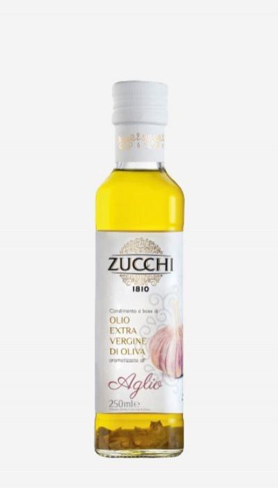 Olivový olej Extra Virgin Garlic Zucchi, 0,25 l