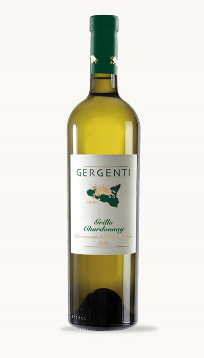 Víno GRILLO CHARDONNAY SICILIA DOC Gergenti