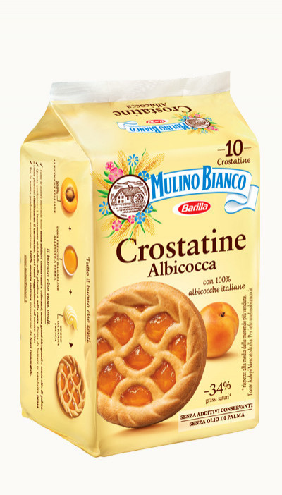 Sušienky Crostat. Albic 400g, Mulino Bianco